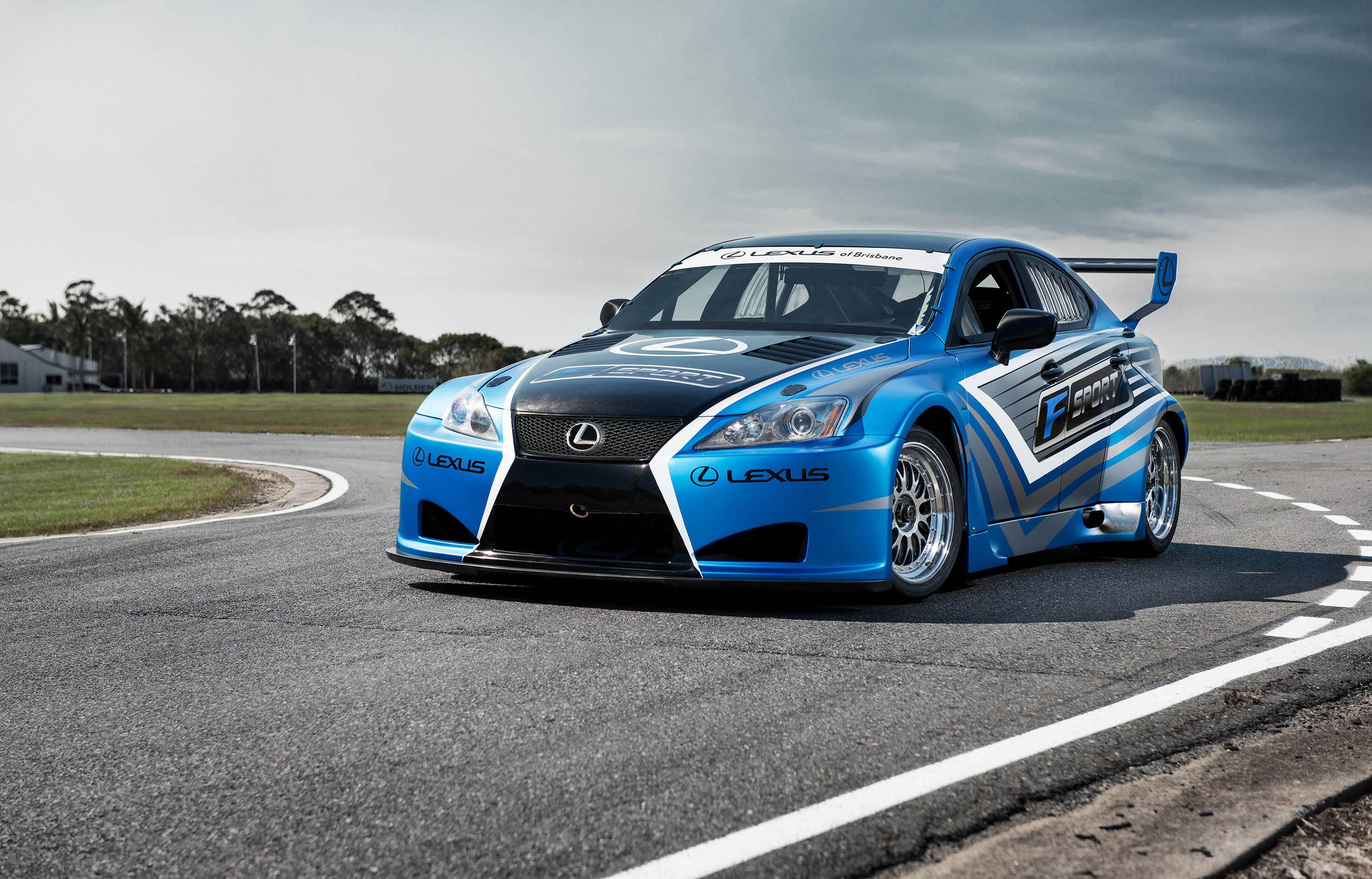 2013 Lexus IS-F Race Cars