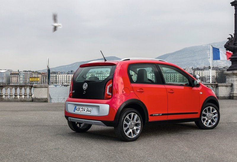 2013 Volkswagen Cross Up Rear