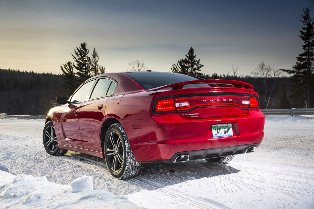 Dodge Charger AWD Sport Rear Angel