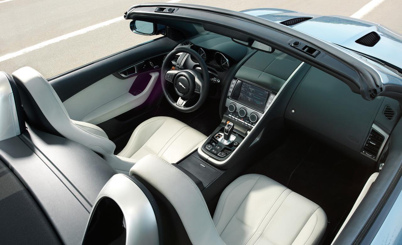 Jaguar F-Type Roadster Interior View