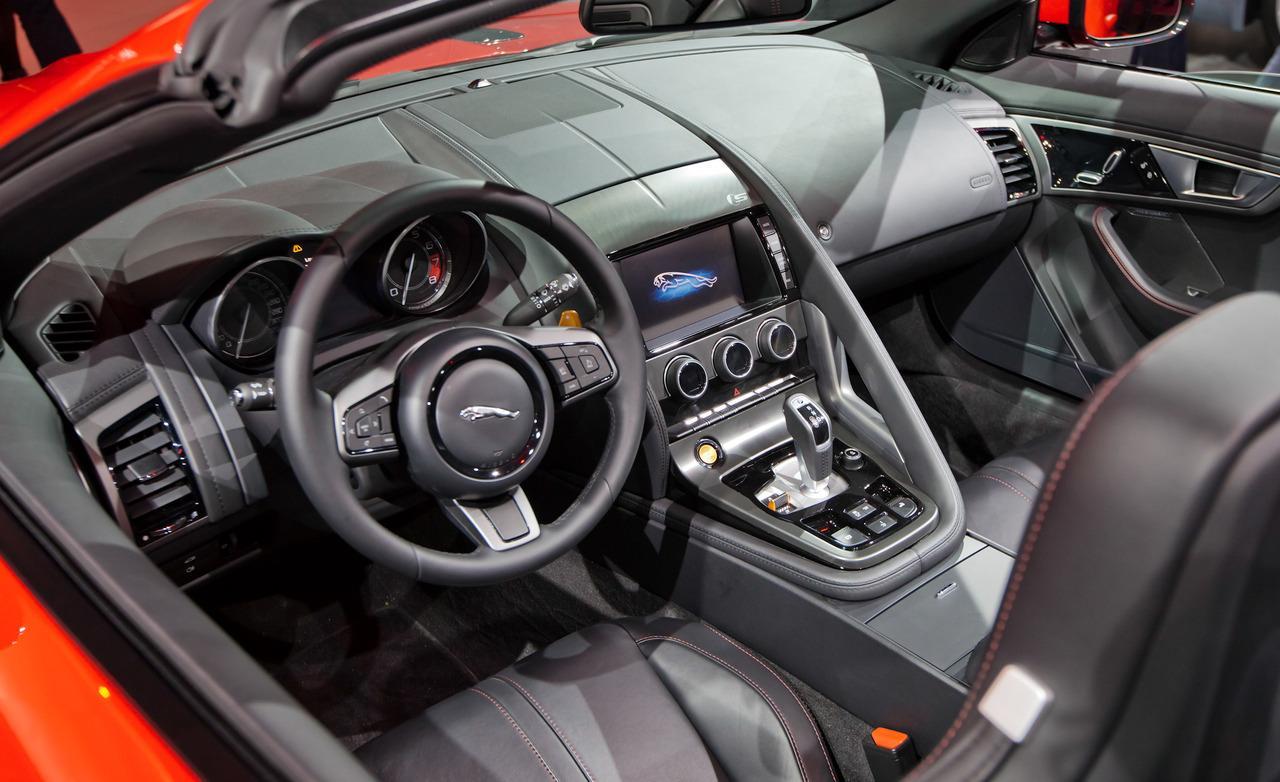 Jaguar F-Type Roadster Interior