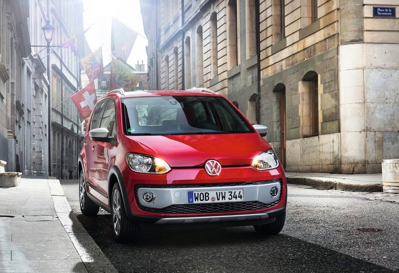 Volkswagen Cross Up Front