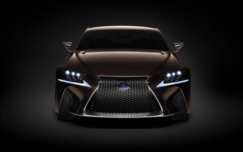 2012 Lexus LF-CC Concept Front View