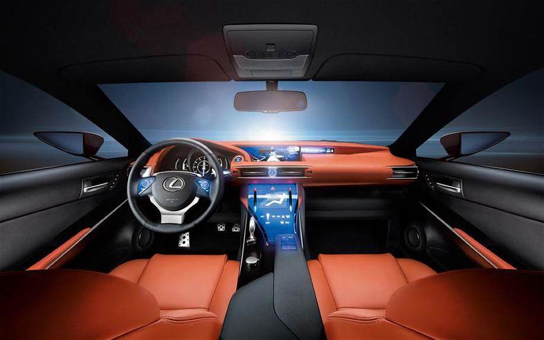 2012 Lexus LF-CC Concept Interior View