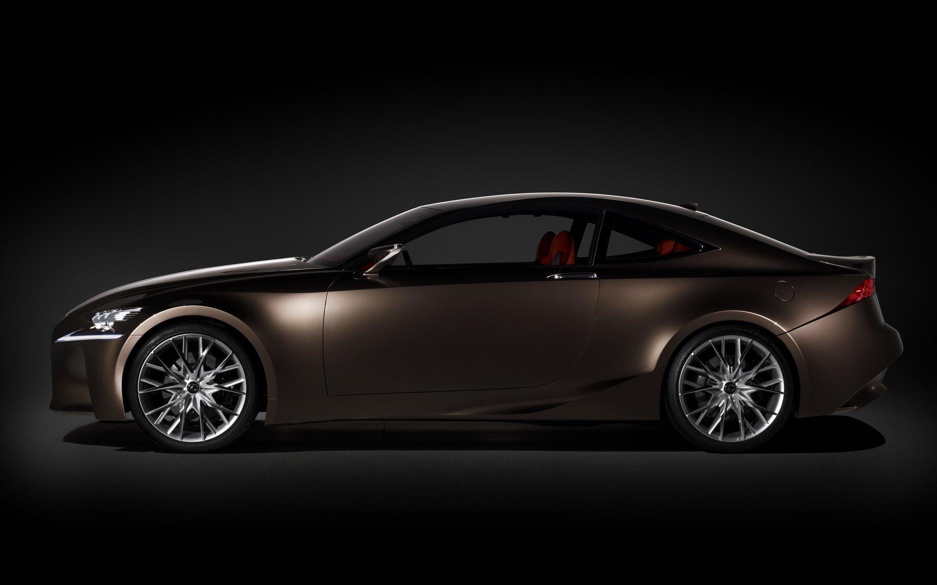 2012 Lexus LF-CC Concept Side View