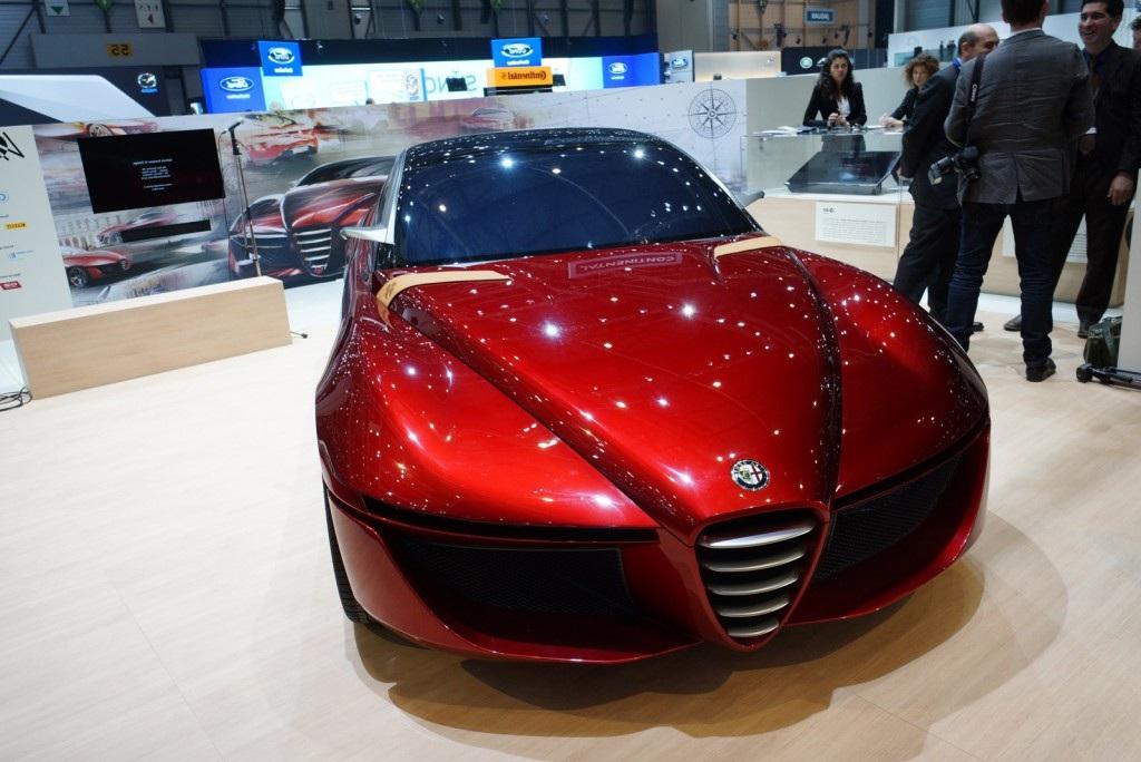 2013 Alfa Romeo Gloria Front View
