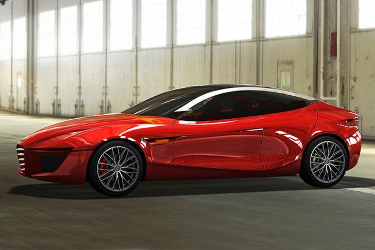 2013 Alfa Romeo Gloria Side View