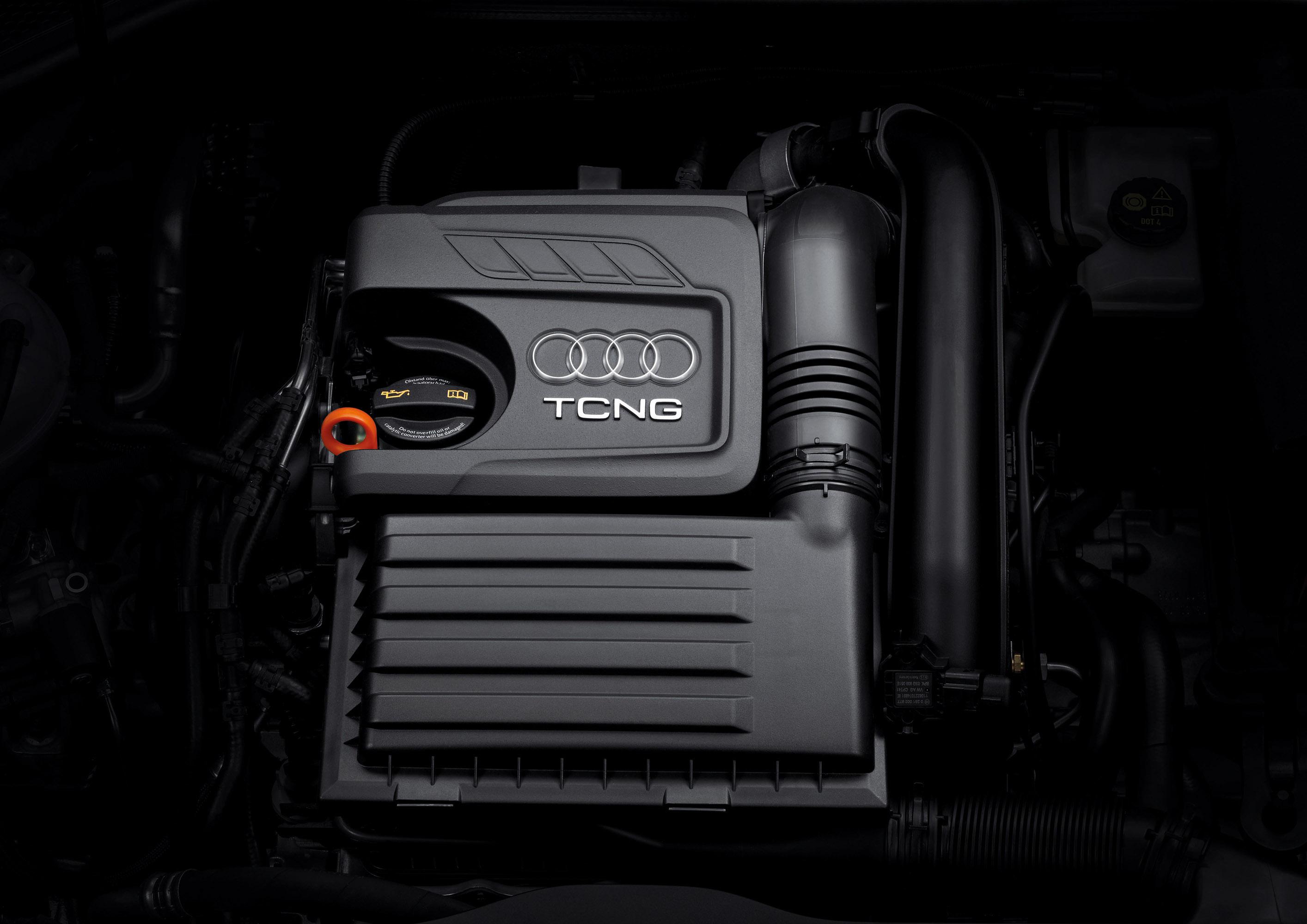 2013 Audi S3 Sportback Engine View