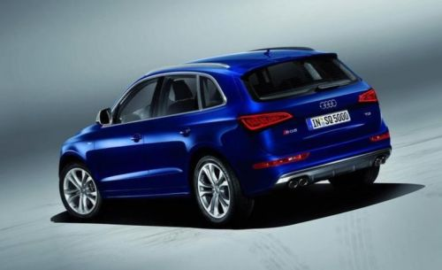 2013 Audi SQ5 TFSI Side View