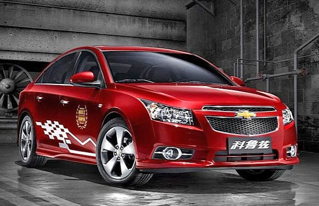 2013 Chevrolet Cruze WTCC China Edition Front View