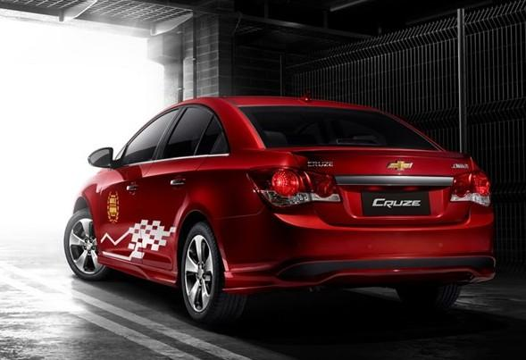 2013 Chevrolet Cruze WTCC China Edition Rear Side View