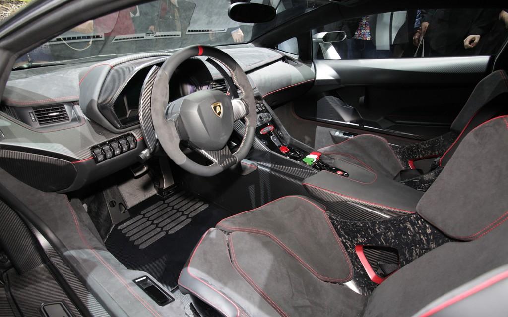2013 Lamborghini Veneno Interior View