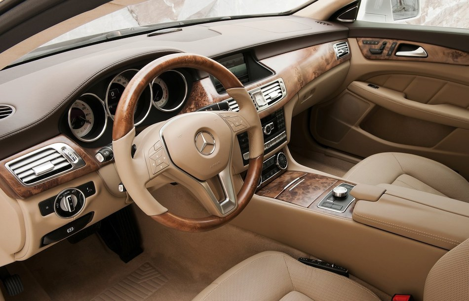 2013 Mercedes Benz CLS Shooting Brake Interior