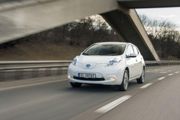 2013 Nissan Leaf White