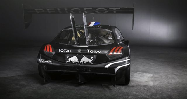 2013 Peugeot 208 T16 Pikes Peak Rear View