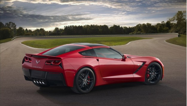 2014 Chevrolet Corvette Stingray Rear View