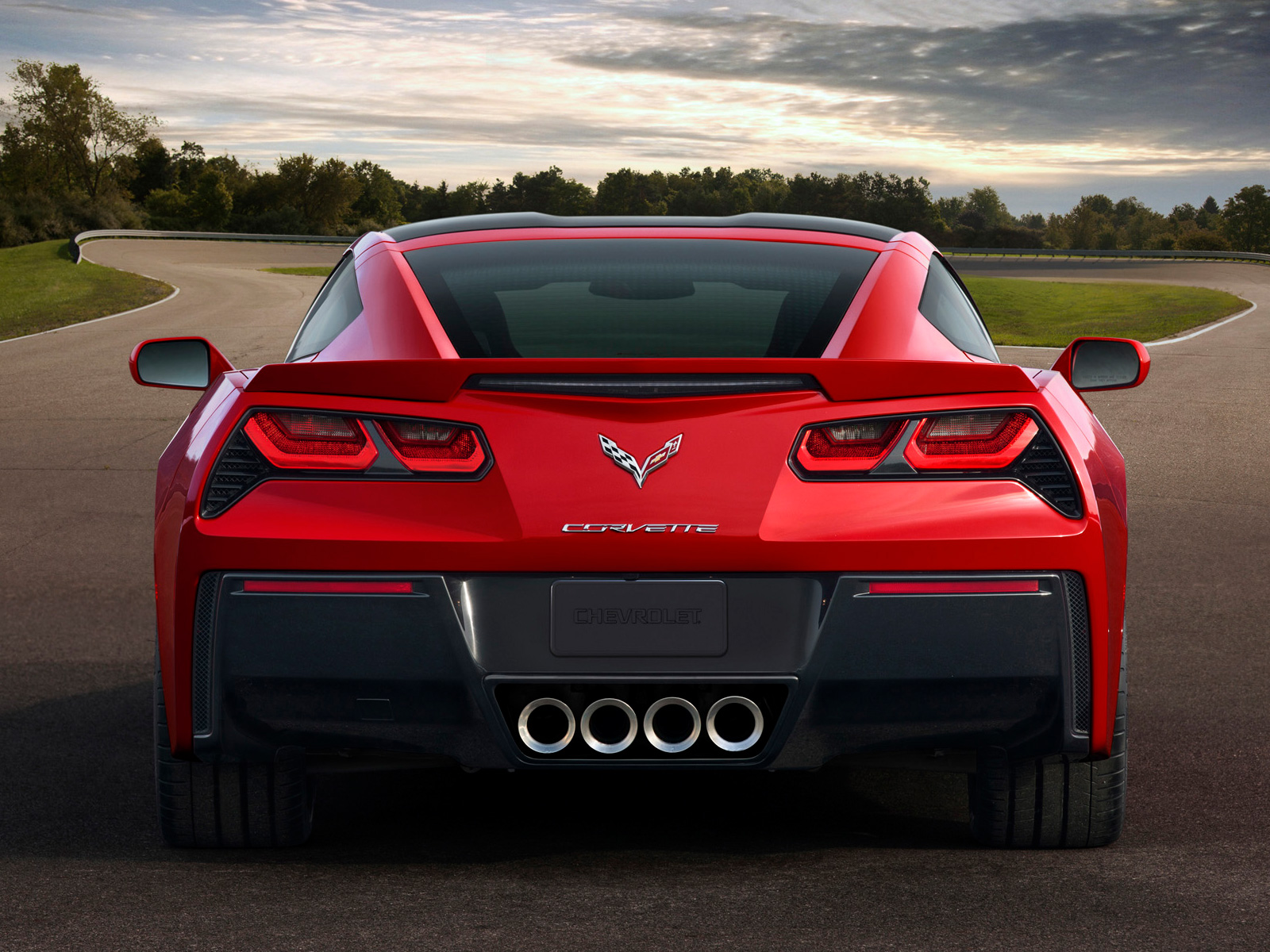 2014 Chevrolet Corvette Stingray Rear