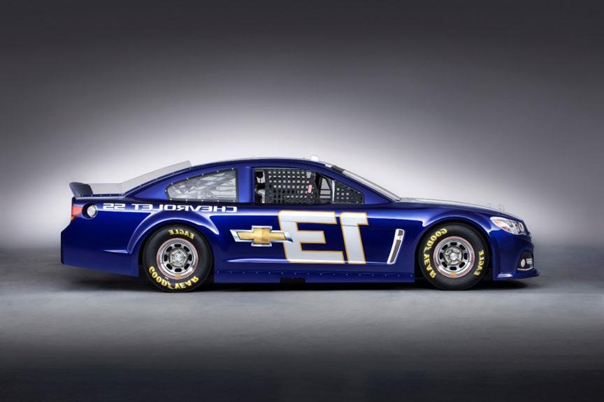 2014 Chevrolet SS NASCAR Side Design