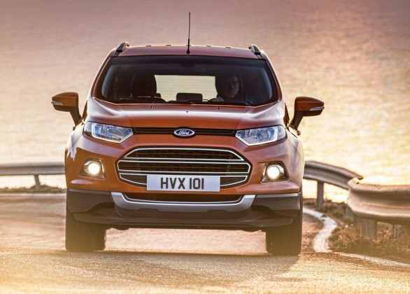 2014 Ford EcoSport EU-Version Revealed Front View