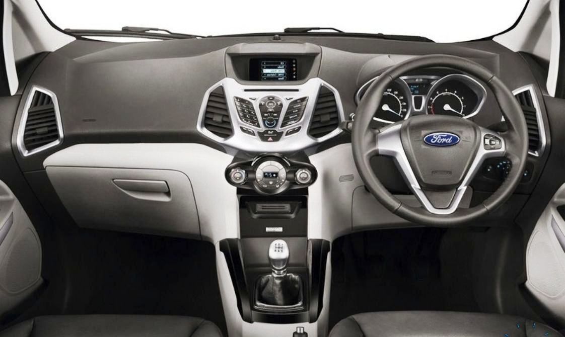 2014 Ford EcoSport EU-Version Revealed Interior View
