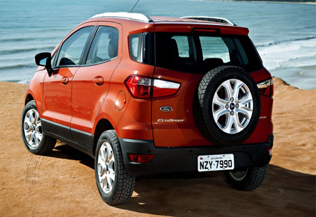 2014 Ford EcoSport EU-Version Revealed Rear View