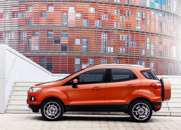 2014 Ford EcoSport EU-Version Revealed Side View
