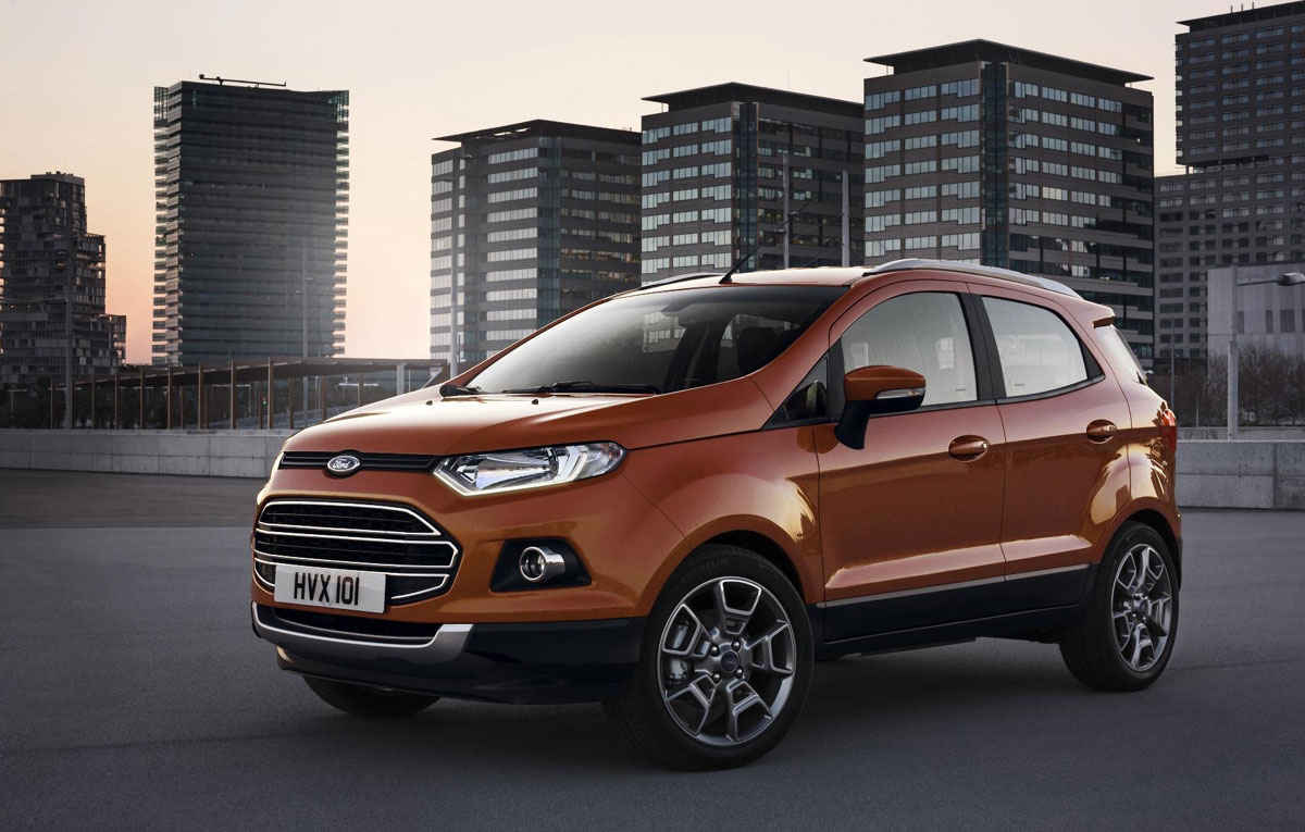 2014 Ford EcoSport EU-Version Revealed