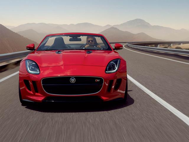 2014 Jaguar F-Type E Damian Lewis Front View
