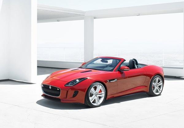 2014 Jaguar F-Type E Damian Lewis Side View