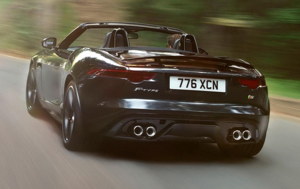 2014 Jaguar F-Type Rear View