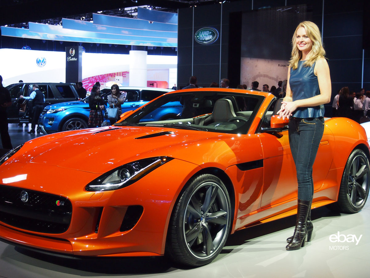 2014 Jaguar F-Type on Debut