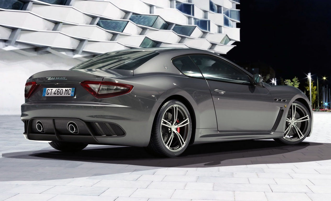 2014 Maserati GranTurismo MC Stradale Rear View