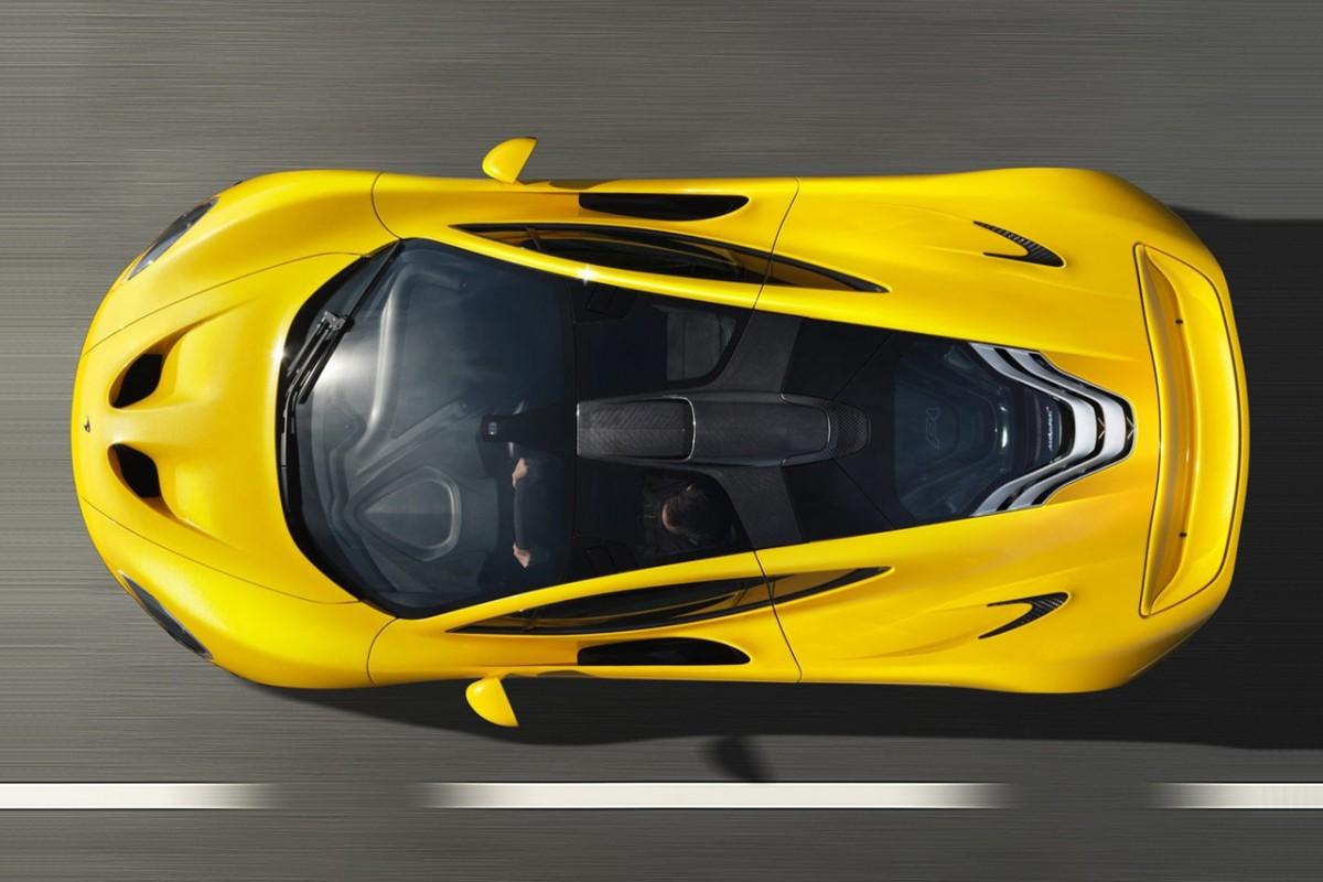 2014 McLaren P1 High View