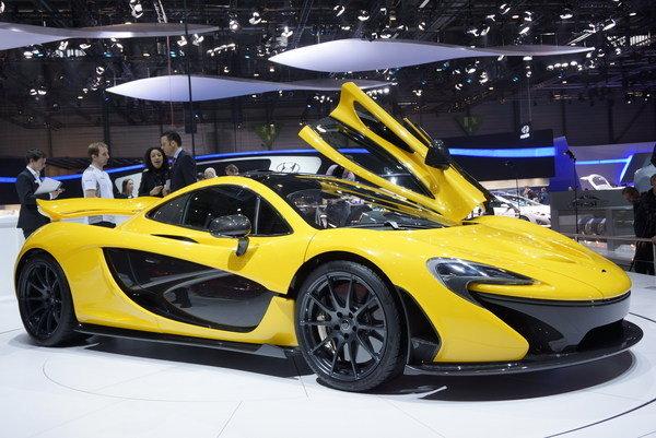 2014 McLaren P1 Side View