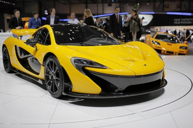 2014 McLaren P1 at Ganeva