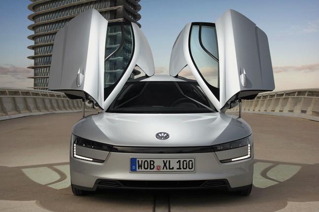 2014 Volkswagen XL1 Front View