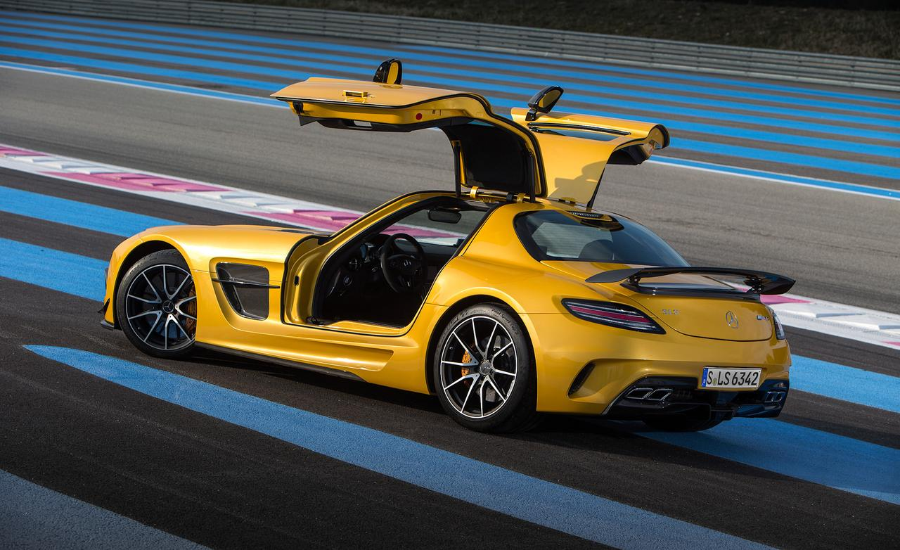 2014 mercedes benz sls amg black series Open Doors