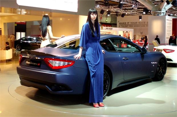 2011 Maserati GranTurismo S Limited Edition Side