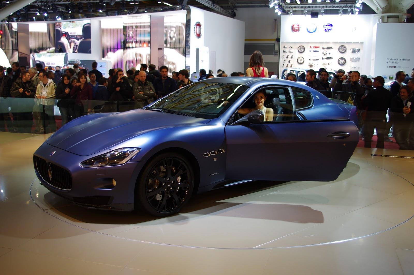 2011 Maserati GranTurismo S Limited Edition on Debut