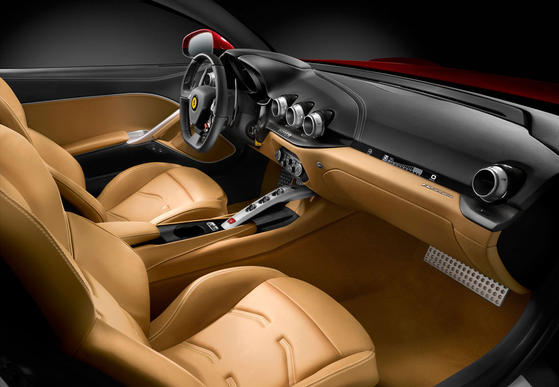 2012 Ferrari F12 Berlinetta Dashboard View