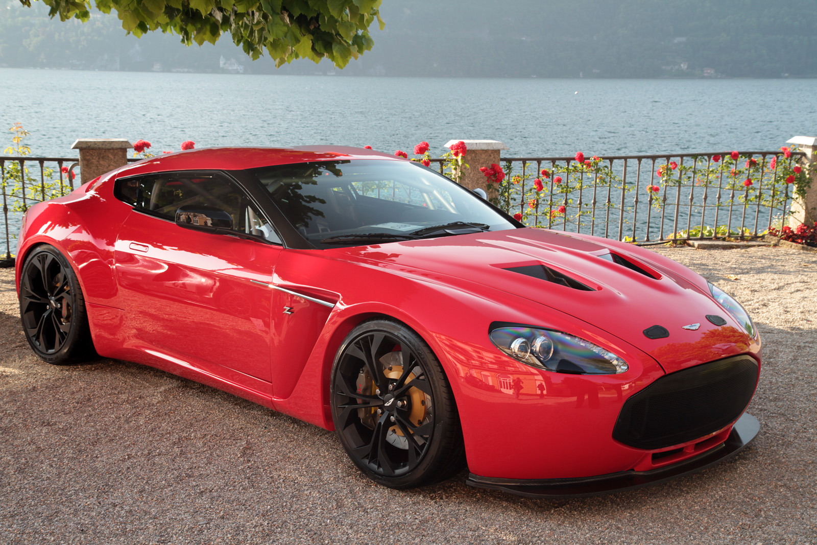 2013 Aston Martin V12 Zagato Front Side View