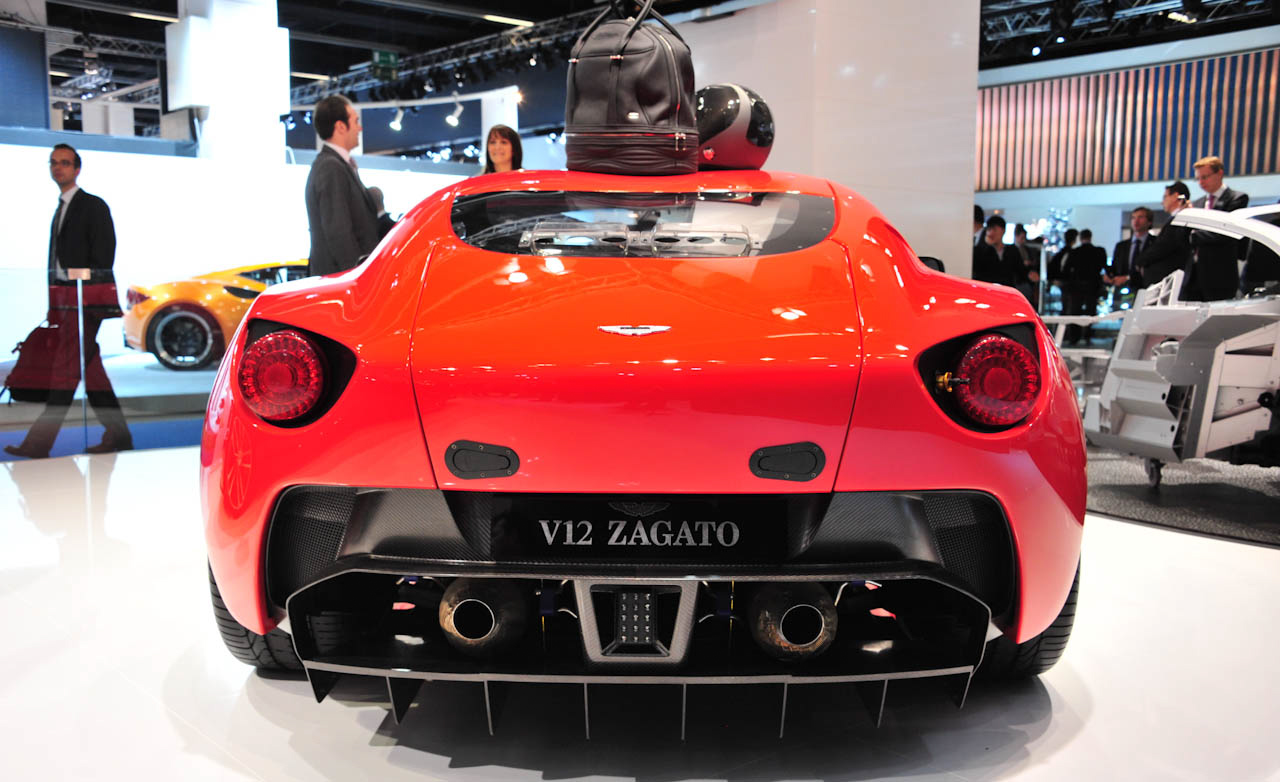 2013 Aston Martin V12 Zagato Rear VIew