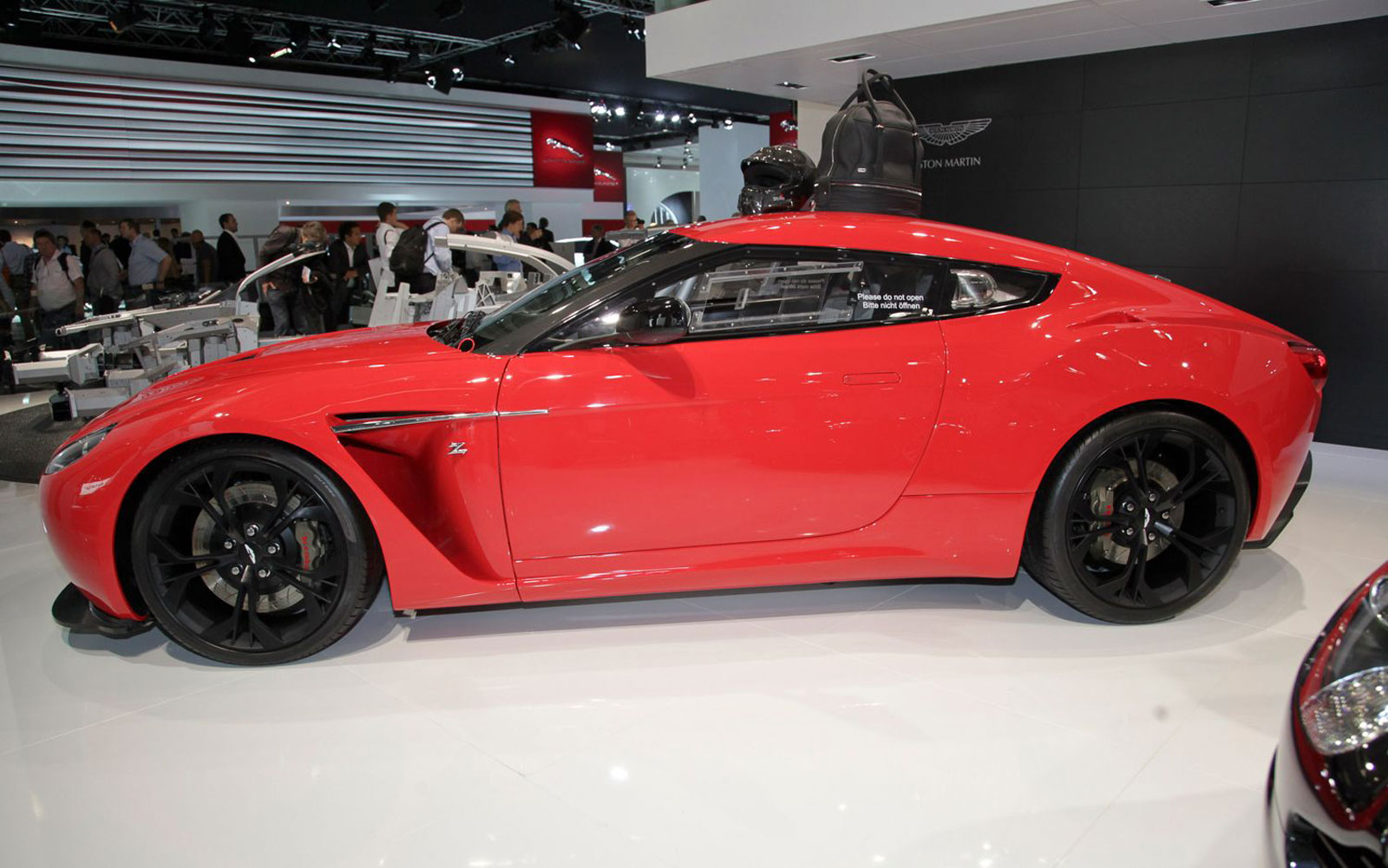 2013 Aston Martin V12 Zagato Side View