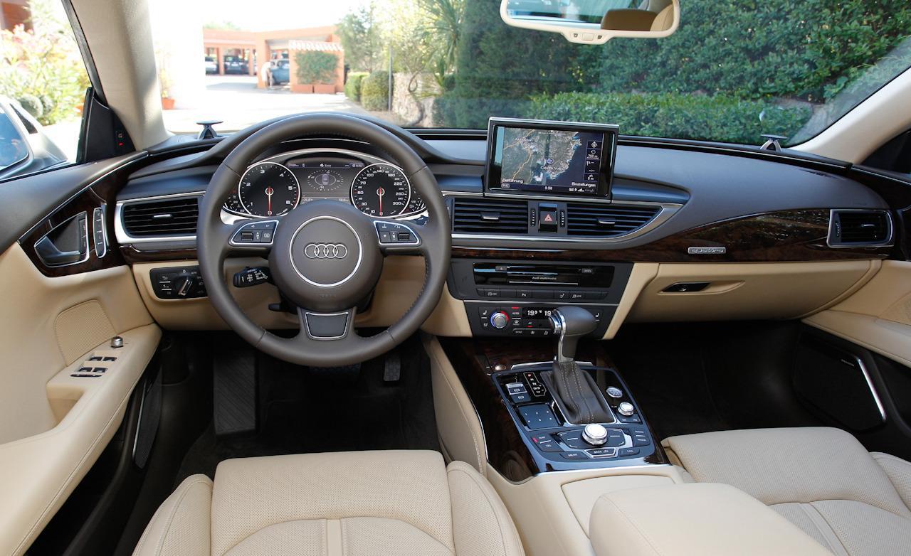 2013 Audi A7 Sportback Dashboard