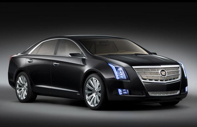 2013 Cadillac XTS Front View