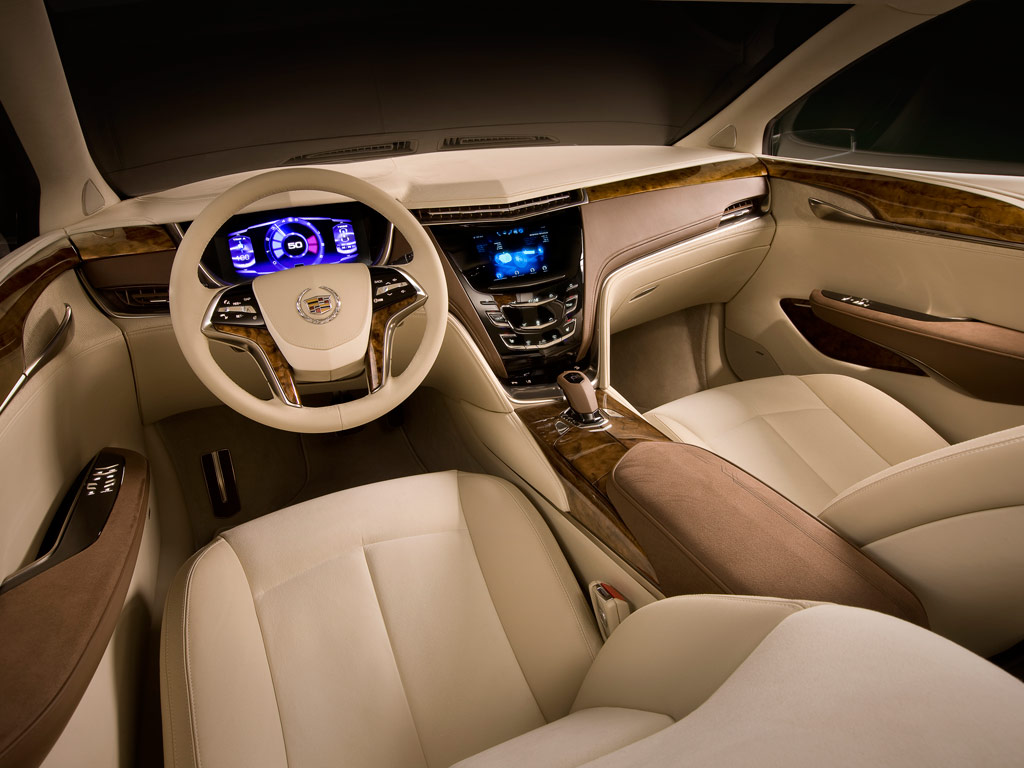 2013 Cadillac XTS Interior View