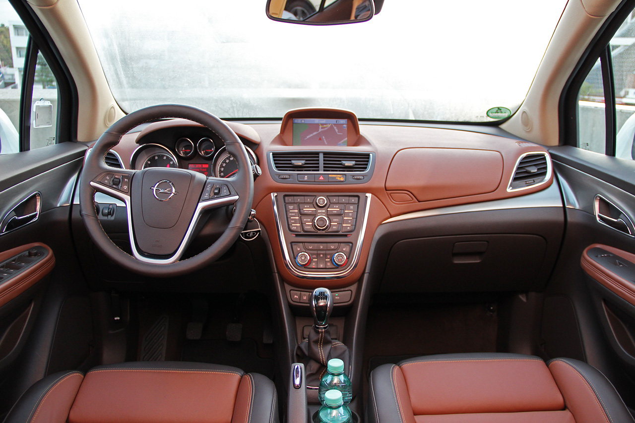 2013 Opel Mokka Interior Dashboard