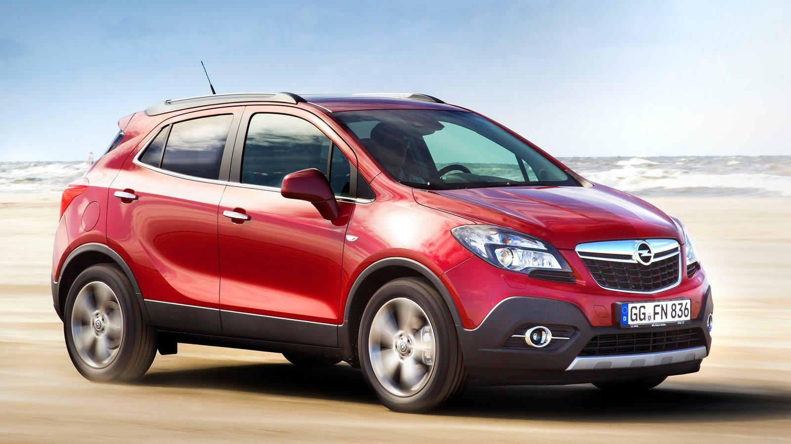 2013 Opel Mokka Side View