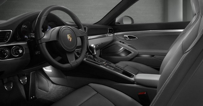 2013 Porsche 911 Coupe Interior Dashboard