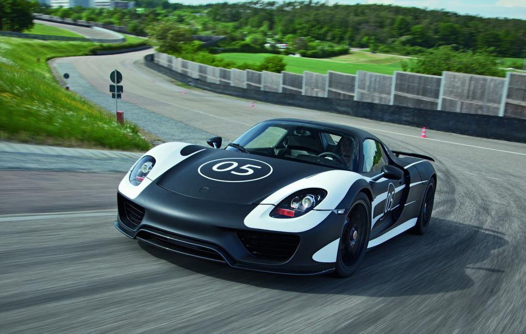 2013 Porsche 918 Spyder